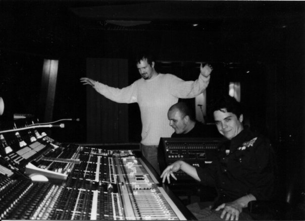 Aviso Hara Hit Factory sessions 1999 Producer Tony Black