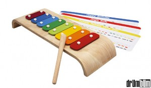 Kids Wood Xylophone from Drum Bum