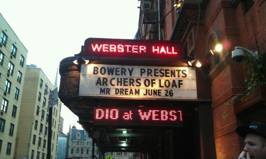 Archers of Loaf Webster Hall NYC 2011