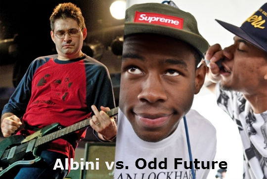 OddFuture Mash-ups vs Steve Albini of Shellac
