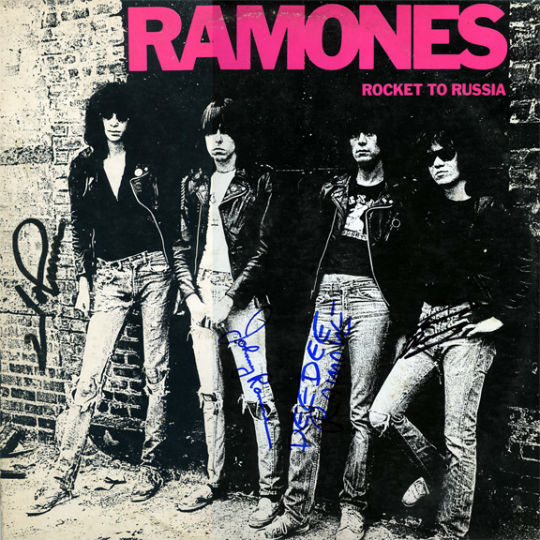 Ramones Rocket To Russia - Sire - 1977