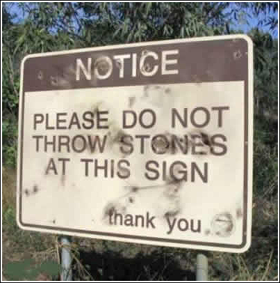 Don't Throw  Stones - Thank you!
