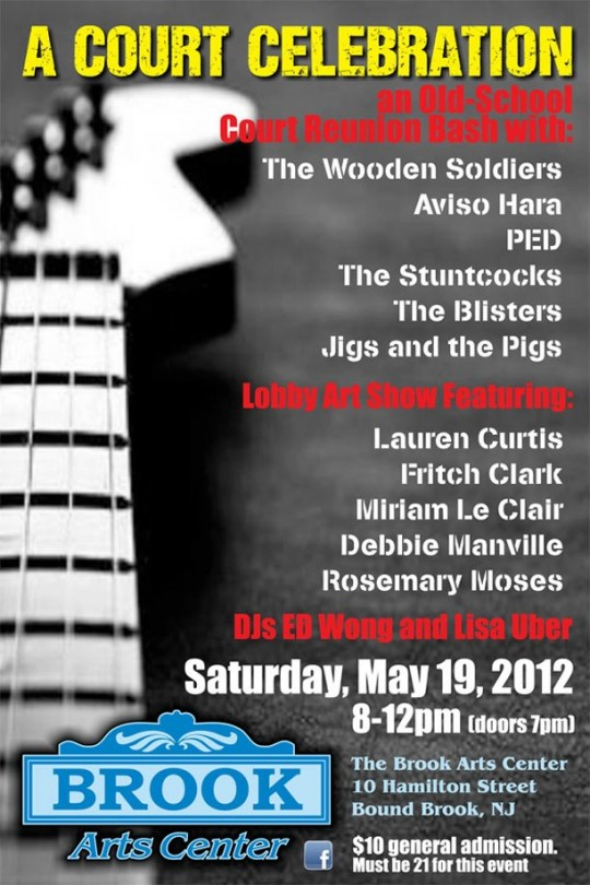NJ Rock Shows on Sat 5.19.2012