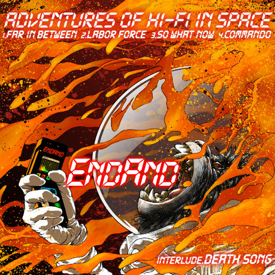 EndAnd Album review Adventures of Hi-Fi in Space