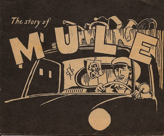 The Story of Mule - Art by Steve Canaday