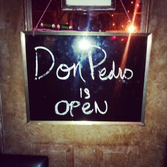 Don Pedro Brooklyn The Club is open
