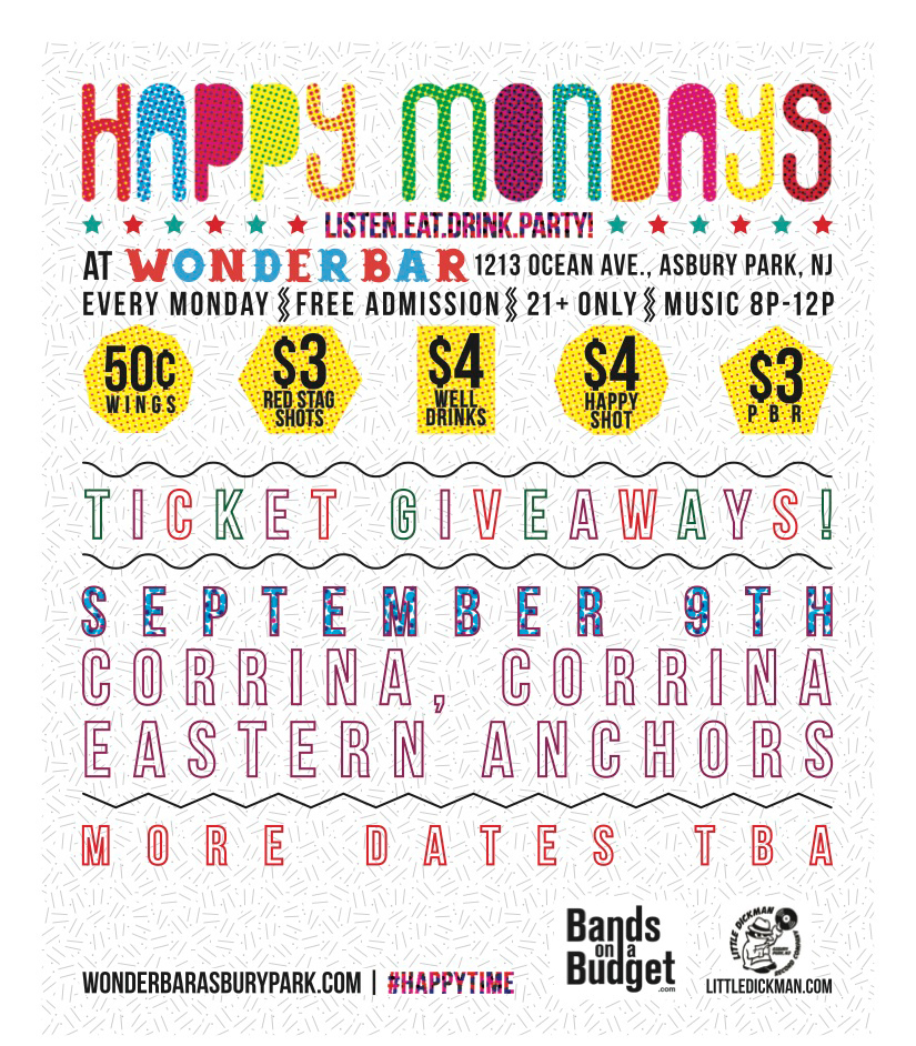Happy Mondays Show Wonder Bar Asbury Park NJ