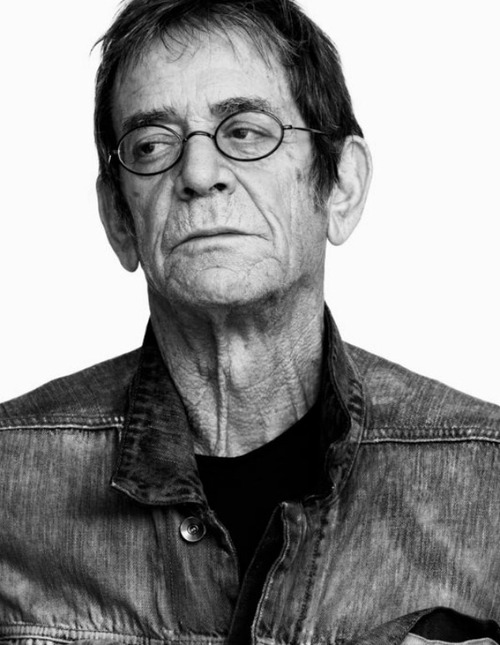 LOU REED more recent photo