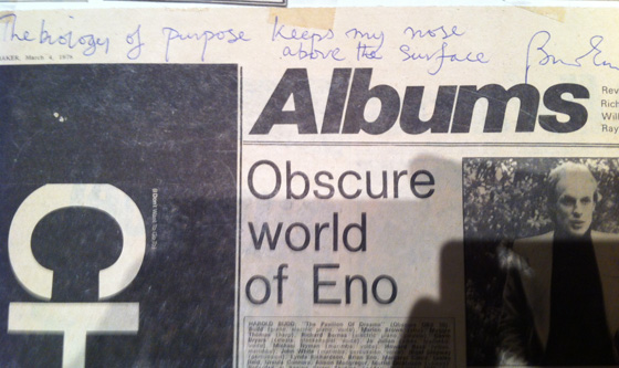 Obscure World of Brian Eno
