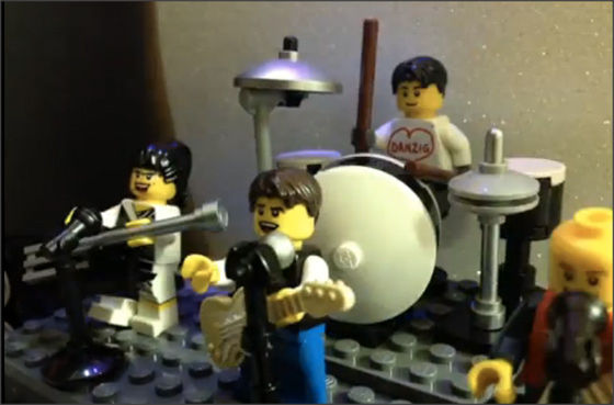 Superchunk Lego Video FOH stop motion