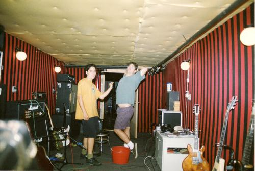 Steve Albini's old studio basement