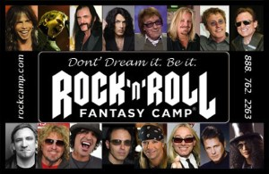 Rocknroll Fantasy Camp Goes Grunge