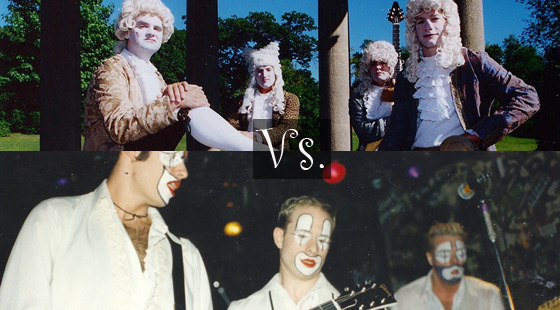 Schtick Bands: The Upper Crust vs Clowns for Progress