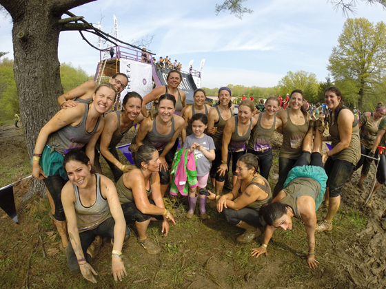Mudderella group Shot 2014 New Jersey