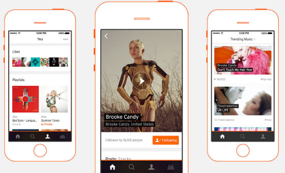 Soundcloud Launch New iPhone App