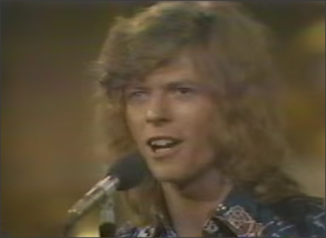 David Bowie on TV Space Oddity 1970