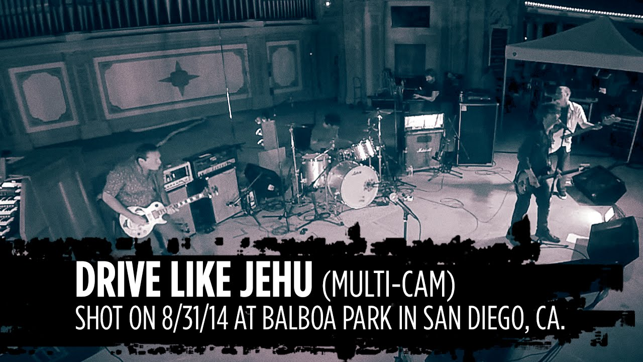Video: Drive Like Jehu Live  Balboa Park, San Diego 2014