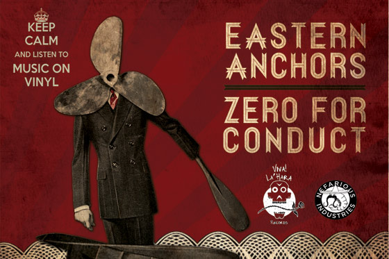 "Eastern Anchors + Zero For Conduct Split = Melodically Pounding Sonic ""Ummph…."""
