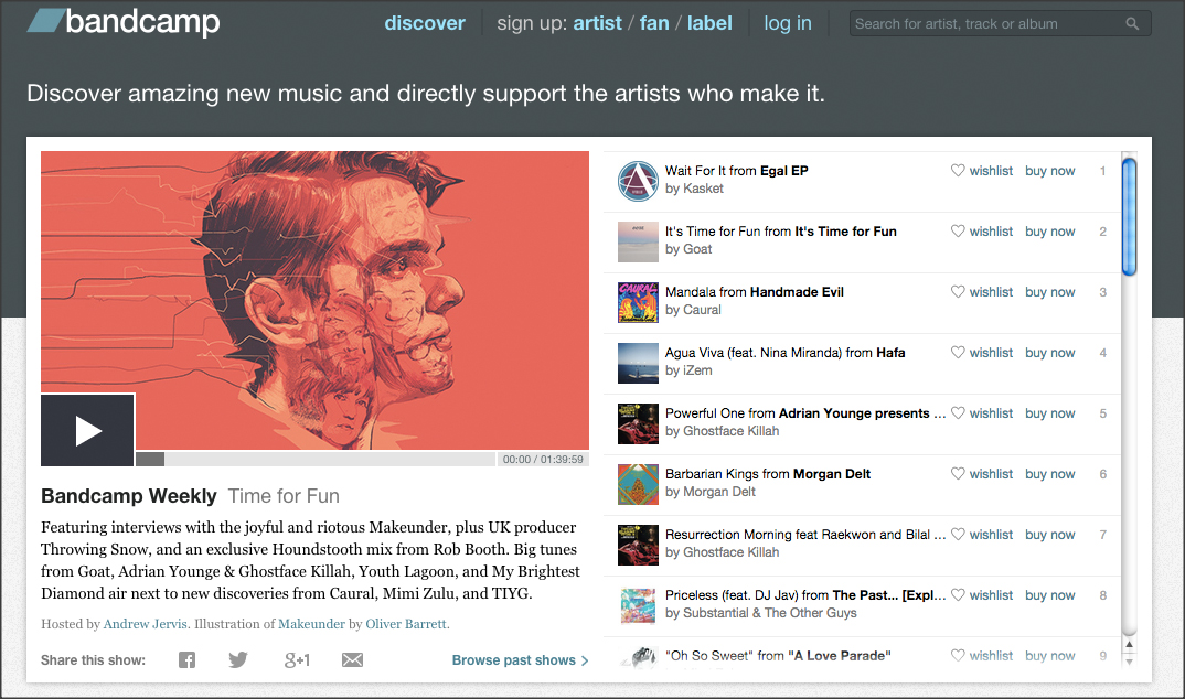 Bandcamp is growing into a music bank and adding payment options